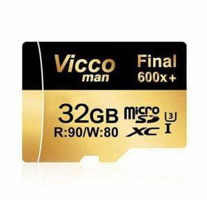 کارت حافظه 32 گیگابایتی ویکو من مدل Extre600X کلاس 10