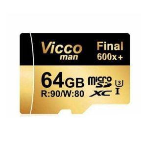 کارت حافظه 64 گیگابایتی ویکو من مدل Final 600X کلاس 10